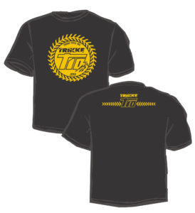 Commemorative black T-shirt for T10 pre-orders