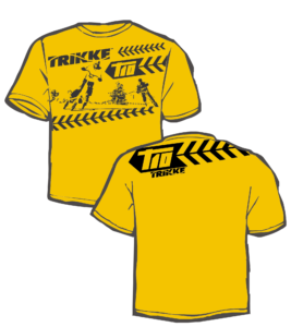 Commemorative yellow T-shirt for T10 pre-orders